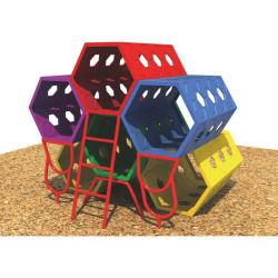 Детей Feiyou пластиковых игрушек детский крытый и открытый скалолазание туннель из пластика слайд игрушки игрушка туннеля