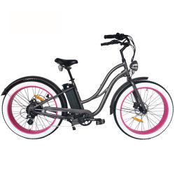 [8-سبيد] درّاجة كهربائيّة مع سمين إطار العجلة [لكد] عرض شاطئ طرّاد
