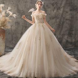 Nouveau prix bon marché robe préférée de gros de haute qualité de la Dentelle femmes Robes de mariée robe de mariée mariage blanc
