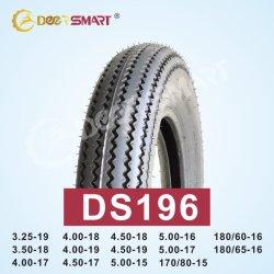 安い価格のサイズ180/60-16、170/80-15、160/60-14の3.25-19、4.00-17、5.00-15パターンDs196管のタイプ/チューブレスオートバイのタイヤ