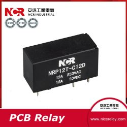 48V 12A Mini-Schaltkarte-Relais/elektrisches Relais (NRP12T)