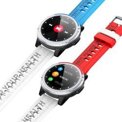 Smart Call Watch Mannen Vrouwen Fitness Tracker Heart Rate Monitor de bloeddruk Smartwatch IP67 waterdicht