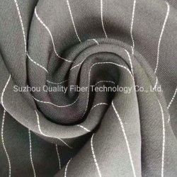 Poliestere Rayon Spandex Stripe Twill tessuto felpa per abbigliamento