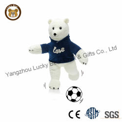 Новый дизайн пользовательских спорта белого медведя с свитер