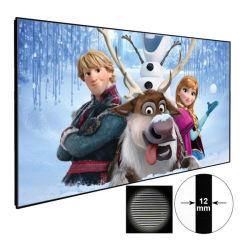 """Xyscreen 80-120"""" 3D/4K Ust лазерный проектор экрана домашнего кинотеатра неподвижной рамкой экрана проектора Alr экрана"""