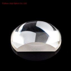 광학 유리 편평한 볼록한 원통 모양 렌즈 망원경