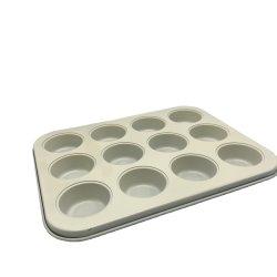 Antihaftbeschichtung Aus Kohlenstoffstahl Keramik Hohlraum Muffin Backformen Für Zuhause Backbleche