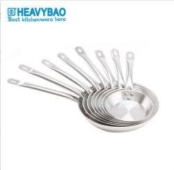 Heavybao roestvrijstalen Fry Food Pan met deksel voor keuken