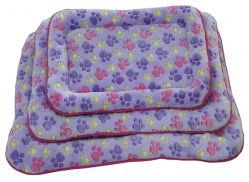 Cuscino morbido e confortevole in velluto di Corallo per cani Cat (WY1610113-3A/C)