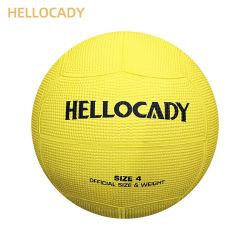 Hellocady promozionale gonfia la sfera di espediente della gomma di formato 4