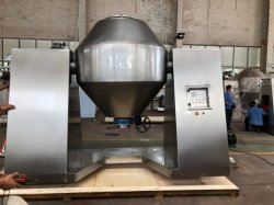 Secador de vácuo cónico para secagem fácil de óxido nitroso e material tóxico