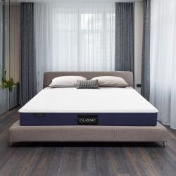Jbm Certipur-Us douce moyenne de 8 pouces certifiée Gel glissant lit d'hôtel matelas de mousse de mémoire