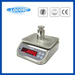 Pantalla LED Impermeable IP68 de laboratorio de alta precisión analítica pesaje Pesaje Electrónico equilibrio