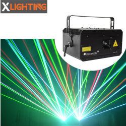 4W RGB DJ Projektor-Lichter und Beleuchtung des Disco-Dioden-Animation-Laser-Erscheinen-Systems-3D