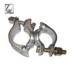 Types d'échafaudages galvanisé le collier de tuyau Raccord pivotant pour la vente