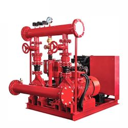 Nfpa20 stellte StandardEdj elektrische Dieselmotor-Jockey-Basissteuerpult-Feuerlöschpumpe mit UL FM ein