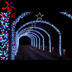 O parque de diversões impermeável Avenue De Estrelas Arcade iluminação LED cava de Arcada personalizada