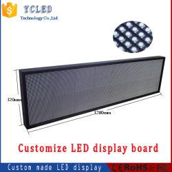 Segnale LED programmabile singolo/doppio/colore pieno finestra LED scorrimento messaggio in movimento Cartello
