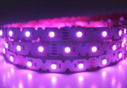 La striscia Nano 12/24V del rivestimento LED impermeabilizza la striscia di figura LED di SMD 5050 il RGB 3000K 4000K S con nastro adesivo 300lse di 3m