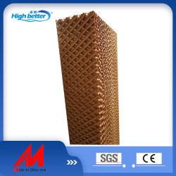 5090/6090/7060/7090 100% carta per legno tampone di raffreddamento evaporativo/cellulosa aria/acqua/Honeycomb/Tenda tipo umido Cuscinetto di raffreddamento per pollame/fattoria di maiale/refrigeratore d'aria