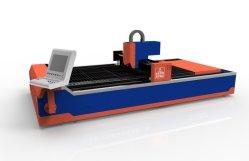 China-Lieferanten-Fabrik-hohe kosteneffektive Blech-Faser-Laser-Ausschnitt-Maschine für Kohlenstoff-Blatt-rostfreien Fassbinder-Scherblock