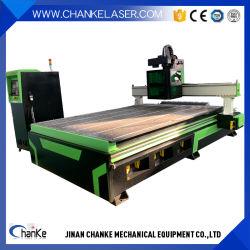 1300X2500mm ATC-Zwischenlage-hölzernes Möbel-Panel-Acrylplastik-CNC-Fräser der Mittellinien-9kw 4