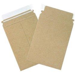 硬質フォト封筒印刷済みカードボードメーラー封筒リサイクル材が平地にとどまる パッケージ用封筒