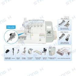 Dispositivo cortador de hilo automático para remalladora