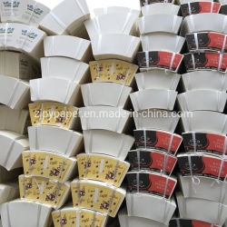 Ventilatore per tazze da caffè personalizzato per fogli di carta da caffè