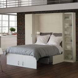 Arredamento appartamento spazio risparmiare letto a parete letto pieghevole Murphy