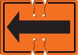 ABS 18*14はプラスチックオレンジトラフィックの円錐形の危険信号のボードメッセージを慎重にじりじり動かす