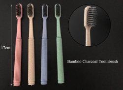 100% natural Orgânicos Biodegradáveis Ecológico de milho de bambu Hotel descartáveis com logotipo da escova