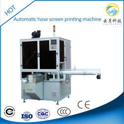 Автоматическая калибровка перьев / шланг шелк трафаретная печать машины с УФ-система отверждения для печати одного цвета