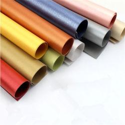 ورق تغليف الهدايا بألوان فاتحة لورق اللؤلؤ للجانبين تجميع الهدايا