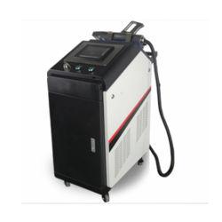Metallo tenuto in mano della macchina di pulizia del laser della fibra del Portable 100With200With300With500W/acciaio inossidabile/rimozione della ruggine della muffa