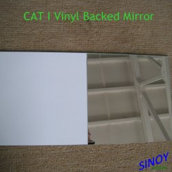 El vinilo Sinoy espejo de la seguridad de respaldo con Cat Cat I o II Film