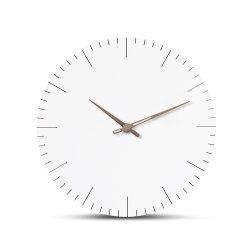 [إيوروبن] تصميم ساعة [ولّ كلوك] بسيطة حديثة مستديرة
