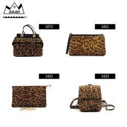 Zaino della stampa del leopardo per i sacchetti di trasporto Lightweig durevole casuale di eleganza dei ragazzi dei capretti delle ragazze