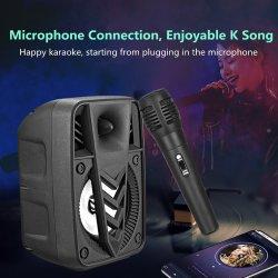 Haut-parleur sans fil Bluetooth l'appui de la carte USB/TF/la radio FM