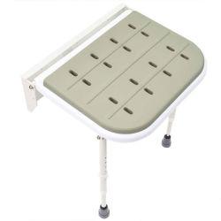Venda a quente / montado na parede Dobrável Tamborete Chuveiro Assento com almofada de espuma de poliuretano para uso hospitalar