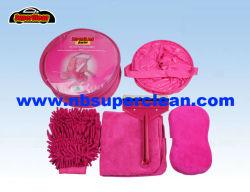 Flanela Mitt, Escova de Lavagem, caçamba, esponja de limpeza para carro Car Wash define o equipamento de lavagem de carros (NC1568)