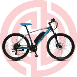 """Eléctrica de 26"""" Bicicleta de Montaña 36V el bastidor de acero del motor trasero"""