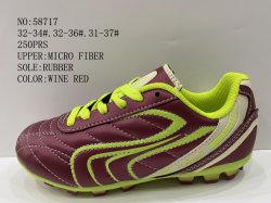Микро волокно открытый футбол обувь против опорные башмаки на складе футбол