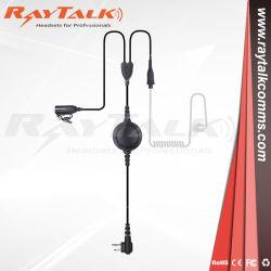 Akustisches Gefäß-Zweidrahthörmuschel der Überwachung-Em-015044 für Duplexradios