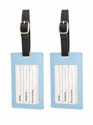 記念品のギフト(002)のための卸し売り昇進のカスタム航空会社旅行PU/Leather/Plasticブランクゴム製柔らかいPVC荷物の札