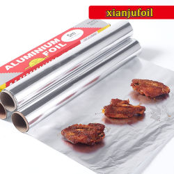 食糧Packaging6environment友好的なアルミホイルの錫のペーパーロール余分広いAlのための環境に優しいアルミホイルの錫のペーパーロール余分広いアルミホイル