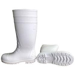 Segurança de PVC impermeável baratos Botas de chuva de trabalho Auto a Bota de Borracha