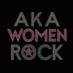 Commerce de gros Aka femmes Rock Hotfix Rhinestone Motif de transfert