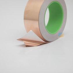 Acrylique feuille de cuivre adhésif conducteur le ruban en mylar pour plancher antistatique