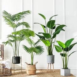 Barata fábrica Planta artificial Banano Home Planta artificial decorativo para la venta